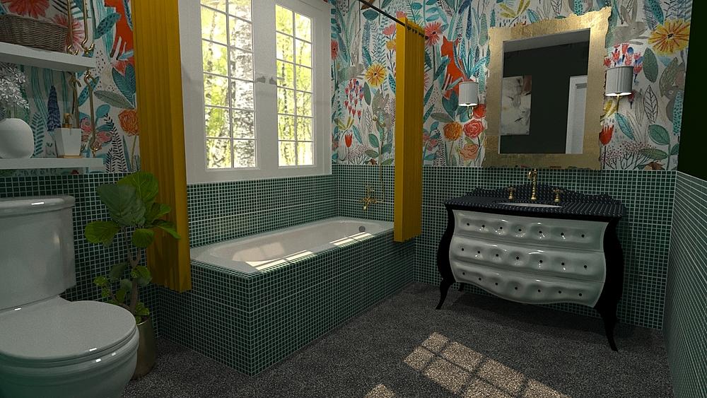 Bathroom - EE01 Vintage Bathroom Alberto Firmat Várez