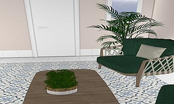 COMEDOR DOLORES Moderní Obývací pokoj Francisco jose rodriguez