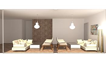 koridori Moderní Obývací pokoj Donart Sahiti