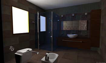 Refin Nordik Transitional Bathroom Giulia Fiorese