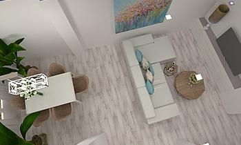 salon manuel rodriguez Moderní Obývací pokoj gonzalo y mariano  soler