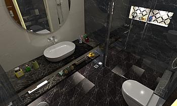 rania 0201 Modern Bathroom Rashid Rushdi