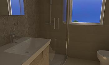 Bagno Principale Cofone-B... Moderní Koupelna Adriano Meringolo