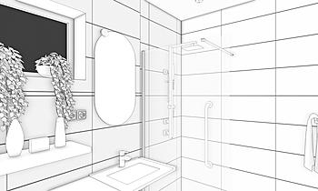 fürdőszoba 2 Contemporary Bathroom Zsolt Horváth