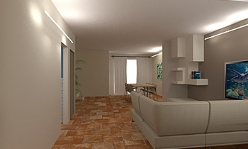 SOGGIORNO Modern Cameră de zi Francesca e Andrea Des Design