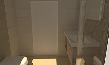 Bagno Principale c-b Moderní Koupelna Adriano Meringolo
