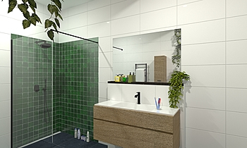 vd Elsen Modern Bathroom Patrick van der Meer