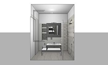malerba bagno piccolo Modern Bathroom salvatore frezza