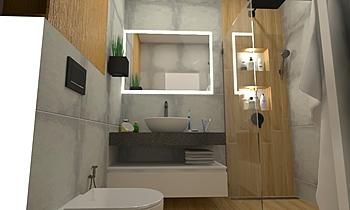 Regent marengo & Woodclas... Moderní Koupelna Mladen Popov