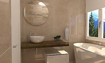 Bagno 1 - Vasca Modern Fürdőszoba BIODOMUS  SRL