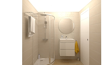 Garzon fürdő Moderní Koupelna Gergő Fejes
