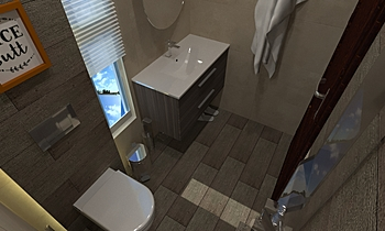 er-3 floor Moderní Koupelna Rashid Rushdi