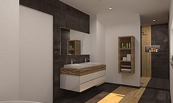 Bati-Flor Salle de Bain Moderní Koupelna Céline Burton