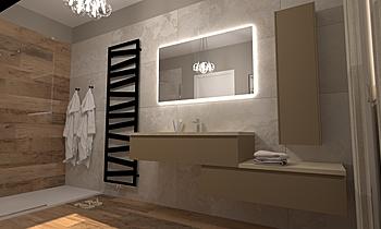 bagno notte Moderní Koupelna GREGOLO SRL