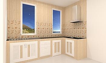 kitchen model Nowoczesne Kuchnia Tikampon  Rattanachanchai
