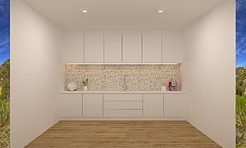 Chong_dry kitchen Nowoczesne Kuchnia Feruni Ceramiche Sdn Bhd frspj