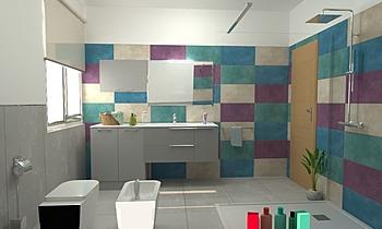 Catanzaro Moderní Koupelna Big Mat Fabio Sbaffi