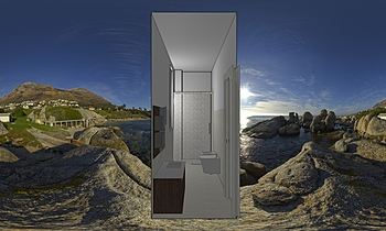 Bagno Calbega 3 Moderní Koupelna Feduzi Materiali Edili  S.n.c