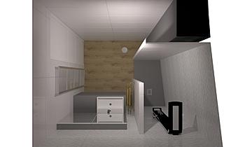 salle de bain Moderní Koupelna fabrice leclerc