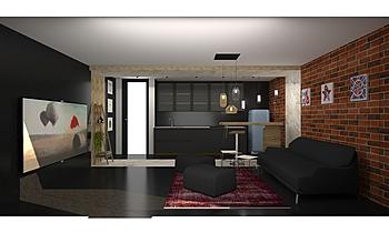 Rado_livingroom Contemporan Cameră de zi Iliana Ovtcharova
