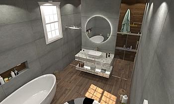 ali aljasmy bath 2 Moderní Koupelna ahmed gharib