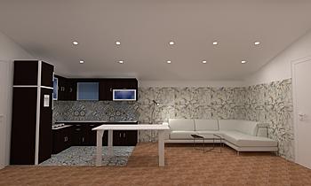 vuoto Modern Cameră de zi ceramiche  2s