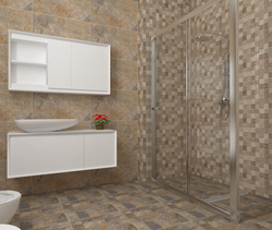 Ardesia Ocre y Deco Lys B... Contemporary Bathroom Cid Vives