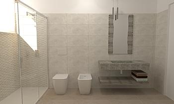 Progetto.5 Modern Bathroom FRANCO ORSINI