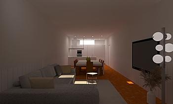 arroniz Modern Cameră de zi Lara Lopez Palacios