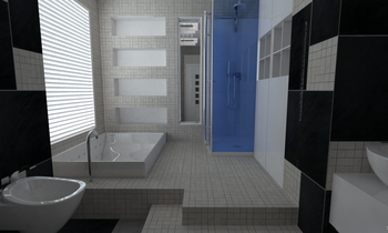 Gardenia Contemporary Bathroom Ivan Roncari