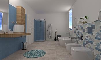 Progetto Cersaie Moderní Koupelna Terrakotta  Csempecentrum