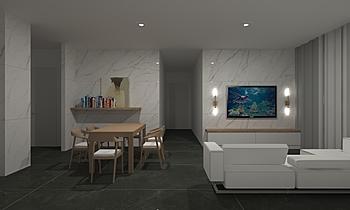 Pusat Bandar Puchong_livi... Modern Cameră de zi Feruni Ceramiche Sdn Bhd frspj