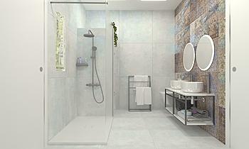 Bany 02_Manacor carpet 1 ... Moderní Koupelna BdB GALMÉS