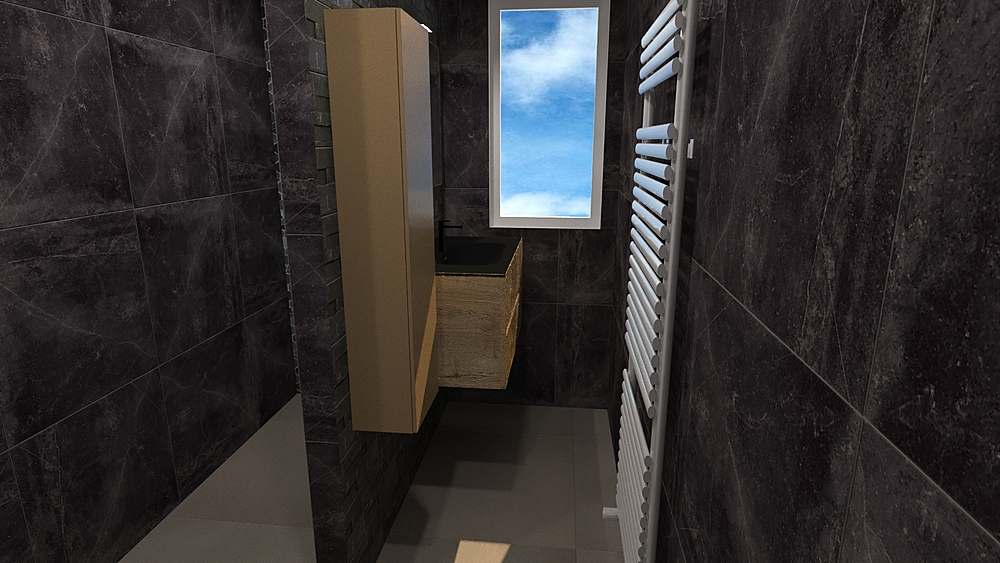 Nonkes Contemporary Bathroom Z-Tiles Tegels & Mozaïek