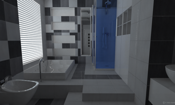 Keramika Modus Transitional Bathroom Ivan Roncari