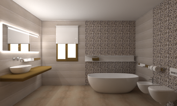 Kenyatta + Asper Classic Bathroom Eurotiles & Bathrooms