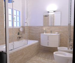 Sahara bano Contemporary Bathroom Cid Vives