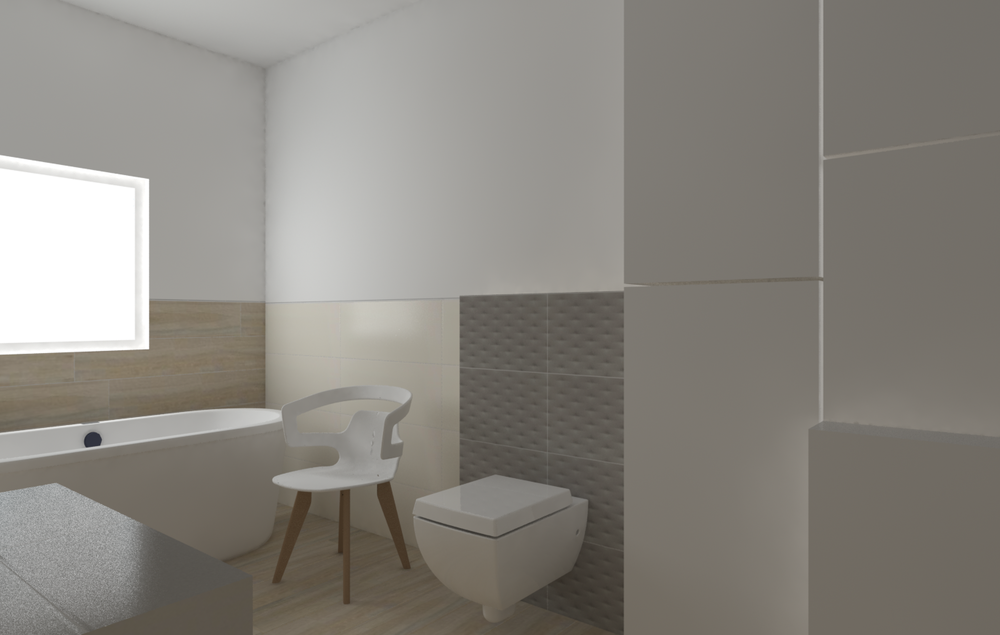 Duza łazienka Tilelook