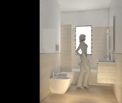 Project faran Contemporary Bathroom Davide D'Orso