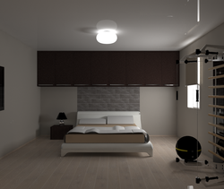 Camera in Mestre rif. sig... Modern Bedroom Bovo Design