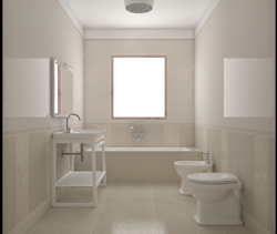 Project farina2 Classic Bathroom Davide D'Orso