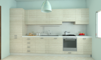 Cucina 2 (215) Contemporary Kitchen Giuliano Fontana