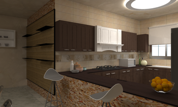 Privet Villa Modern Kitchen Ahmad Yasser