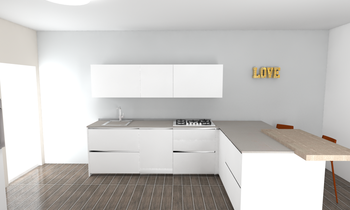 160090 Modern Kitchen LAKD Lattanzi Kitchen Design
