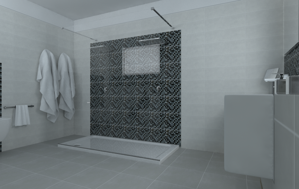 Tilelook bagno con mosaico