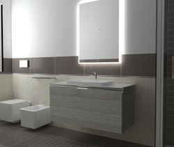 Stone Collection Marazzi ... Modern Bathroom Ceramiche Masala sas