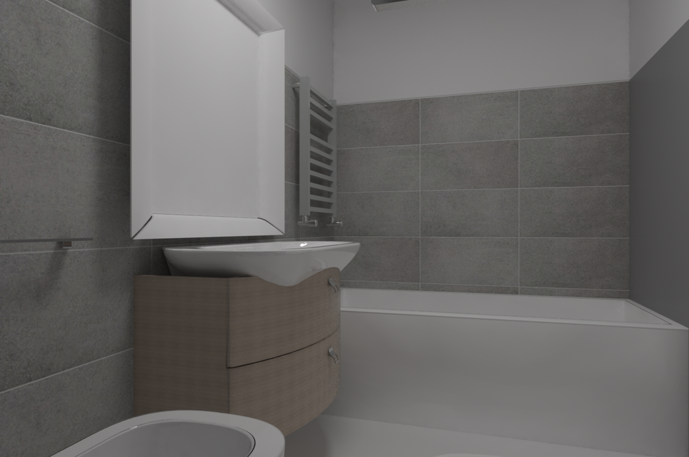 Bagno Con Vasca Classic Bathroom By Paolo Mix Tilelook
