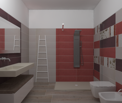 over flaviker Contemporary Bathroom Giuseppe Esposito vivino