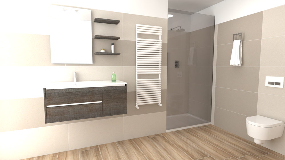 Disegno Bagno Absolute : Tilelook absolute composizione