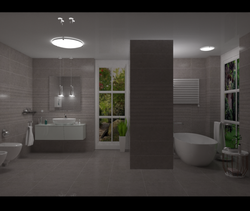 Tutorial Modern Bathroom Ceila Tilelook